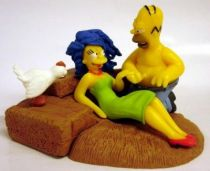 The Simpsons - Gentle Giant Bust-Ups Serie 5 - Marge and Homer in the haystack