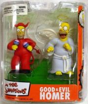 The Simpsons - Good & Evil Homer - McFarlane