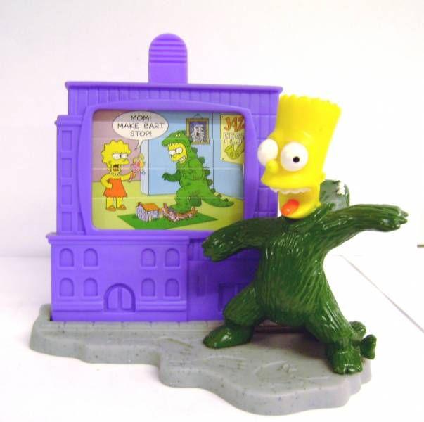 The Simpsons - Halloween Burger King Premium - Bart-Zilla