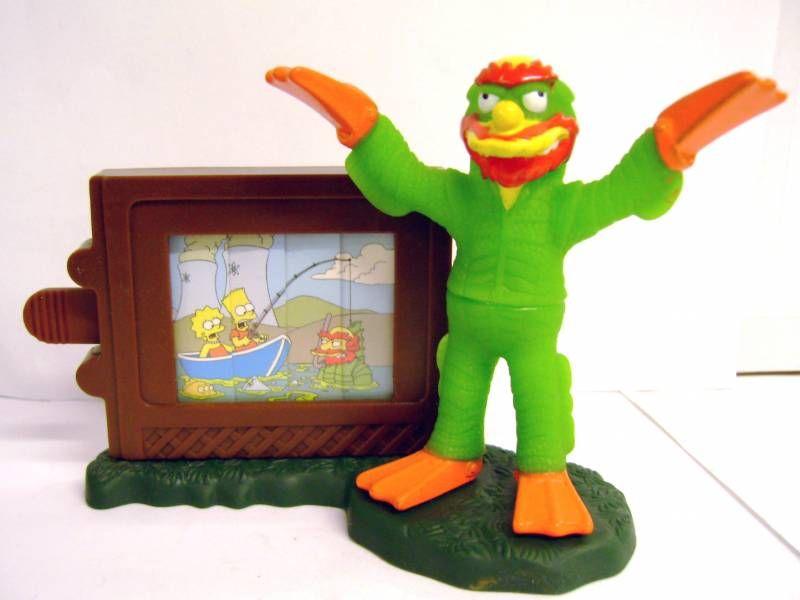 The Simpsons - Halloween Burger King Premium - Black Lagoon\'s Creature Willie