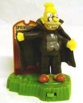 The Simpsons - Halloween Burger King Premium - Dracula Granpa