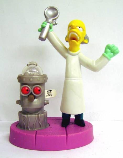 The Simpsons - Halloween Burger King Premium - Evil Dr. Burns