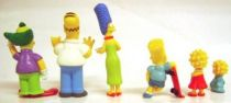 The Simpsons - Ideal - Set of 6 PVC Figures