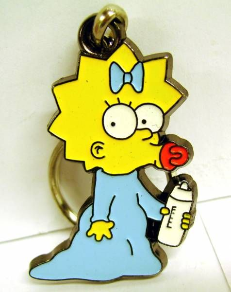 The Simpsons Maggie PVC Figural Keychain