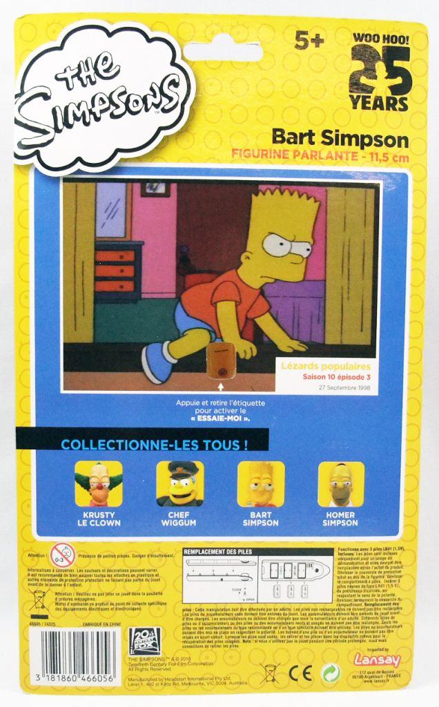 The Simpsons - Lansay - Bart Simpson talking figure