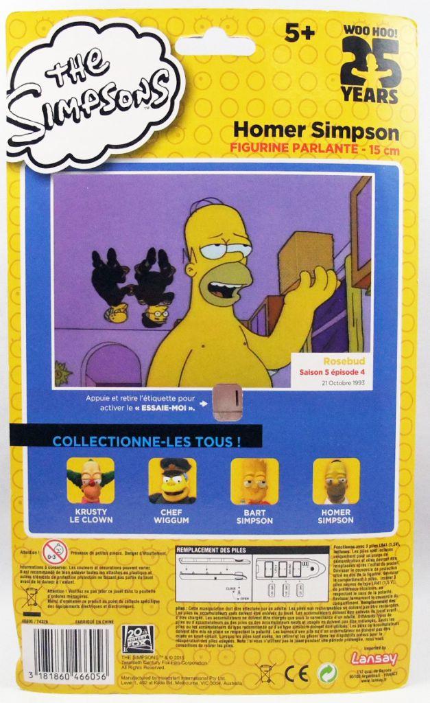 The Simpsons - Lansay - Homer Simpson talking figure
