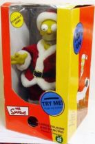 The Simpsons - Large Talking and Dancing Homer Simpson as Santa Doll
