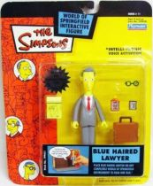 The Simpsons - Playmates - Blue Haired Lawyer (Series 11)