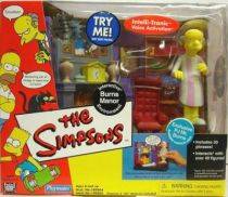 The Simpsons - Playmates - Burns Manor with PJ Mr. Burns