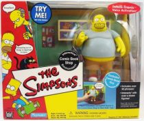 The Simpsons - Playmates - Comic Book Shop (avec Comic Book Guy)