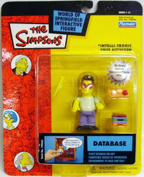 The Simpsons - Playmates - Database (Series 12)