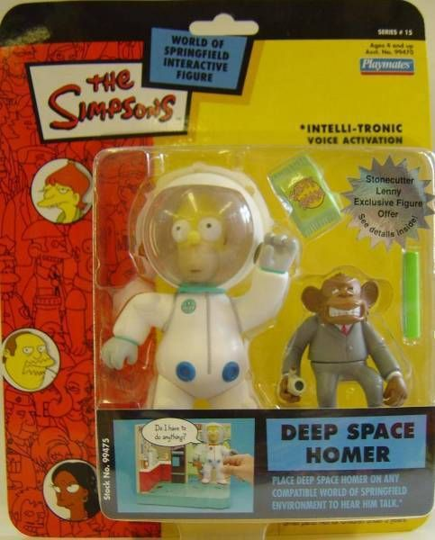 The Simpsons - Playmates - Deep Space Homer (Series 15)