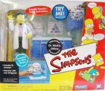 The Simpsons - Playmates - Dr. Nick\'s office with Nick Rivera