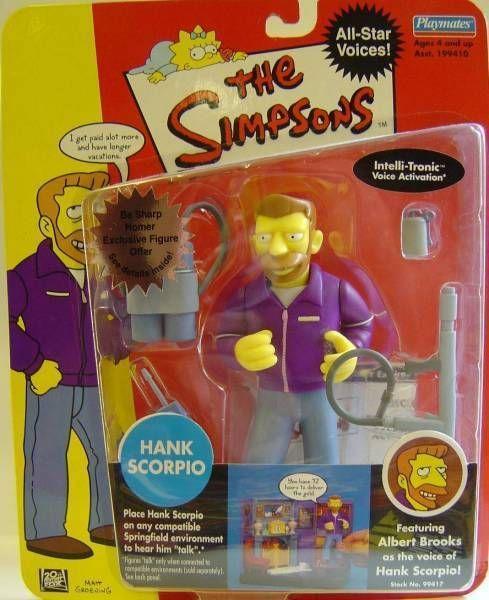 The Simpsons - Playmates - Hank Scorpio (Celebrities Series 2)