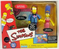 The Simpsons - Playmates - High School Prom with Homer Simpson & Marge Bouvier