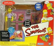The Simpsons - Playmates - Krusty Burger with Pimply Faced Kid