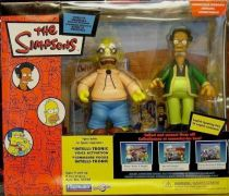 The Simpsons - Playmates - Kwik-E-Mart diorama (with Grampa & Apu)