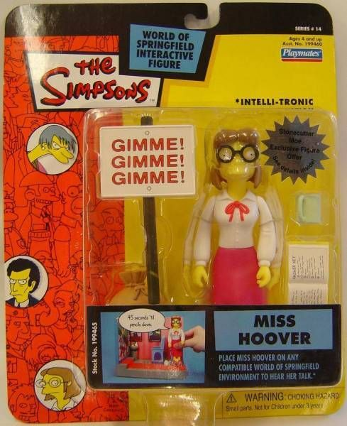 The Simpsons - Playmates - Ms. Hoover (Series 14)