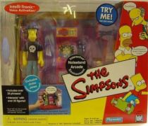 The Simpsons - Playmates - Noiseland Arcade with Jimbo Jones