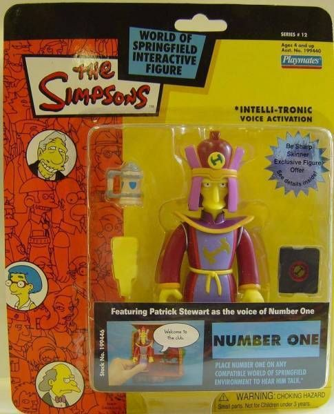 The Simpsons - Playmates - Number One (Series 12)