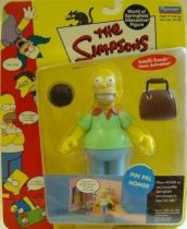 The Simpsons - Playmates - Pin Pal Homer (Series 2)