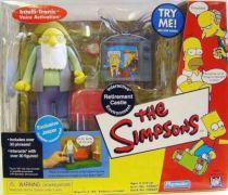 The Simpsons - Playmates - Retirement Castle with Jasper