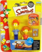 The Simpsons - Playmates - Rod & Todd Flanders (Series 9)