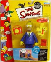 The Simpsons - Playmates - Sunday Best Homer (Series 3)