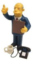 The Simpsons - Playmates - Superintendant Chalmers (Series 8) - loose figure