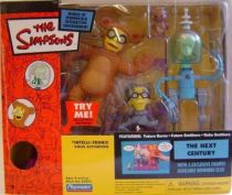 The Simpsons - Playmates - The Next Century with Future Burns, Future Smithers & Bobo Smithers