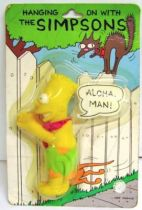 The Simpsons - Plush with claw - Hawaiian Bart