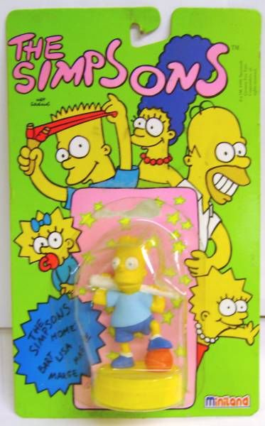 The Simpsons - PVC with Base - Sport Bart