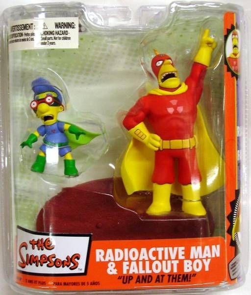 The Simpsons - Radioactive Man & Fallout Boy - McFarlane
