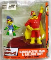 The Simpsons - Radioactive Man & Fallout Boy - McFarlane