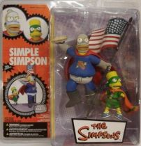 The Simpsons - Simple Simpson \'\'Pieman & the Cupcake Kid\'\' - McFarlane