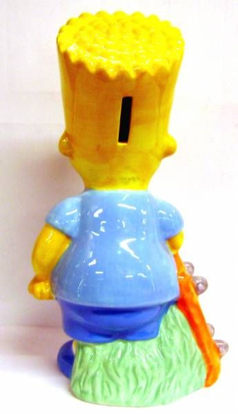 The Simpsons - Tropico Diffusion - Bart Ceramic bank