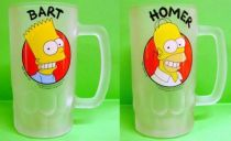 The Simpsons - Tropico Diffusion - Homer & Bart Simpson Beer Mug