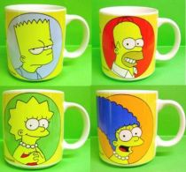 The Simpsons - Tropico Diffusion - Set of 4 Ceramic Mugs Mint in Box