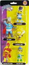 The Simpsons - Winning Moves - Series 5 - Caped & Courageous - 5 pvc figures set