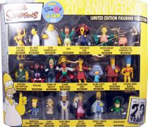 "The Simpsons - Winning Moves - Simpsons 20th Anniversary - Coffret de 21 figurines pvc ""Les Simpson Le Film\"""