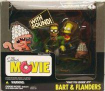 The Simpsons Movie - Bart & Flanders \'\'What you lookin\' at ?\'\' - McFarlane
