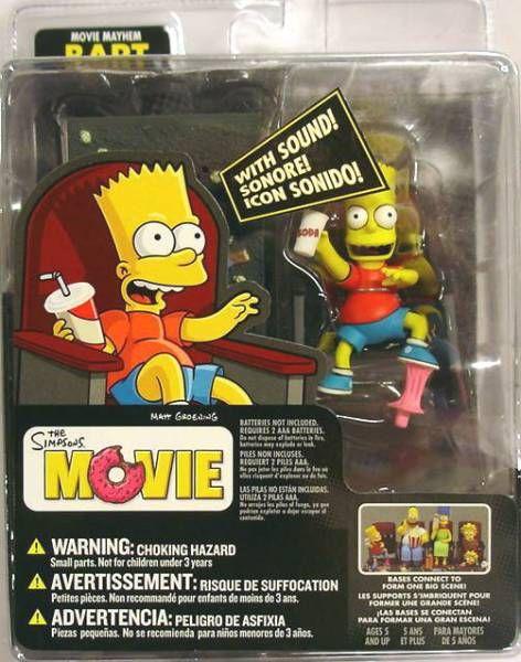 The Simpsons Movie Movie Mayhem Bart Mcfarlane