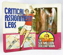 The Six Million Dollar Man - Dennys Fisher / Meccano Accessories - Critical Assignment Legs
