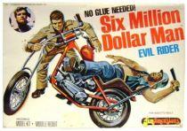 The Six Million Dollar Man - Merchandising Fundimensions Scale Model Kit - Evil Rider - Mint in box