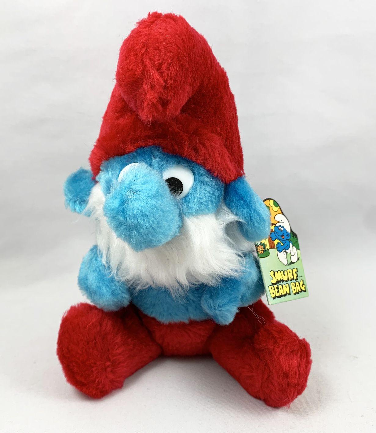The Smurfs Bean Bag Schleich Wallace Berrie 8inch Papa Smurf
