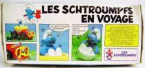 The Smurfs - Ceji Wobble Toy - Smurfs in journey: Vehicle + 1 wobble figure (mint in box)