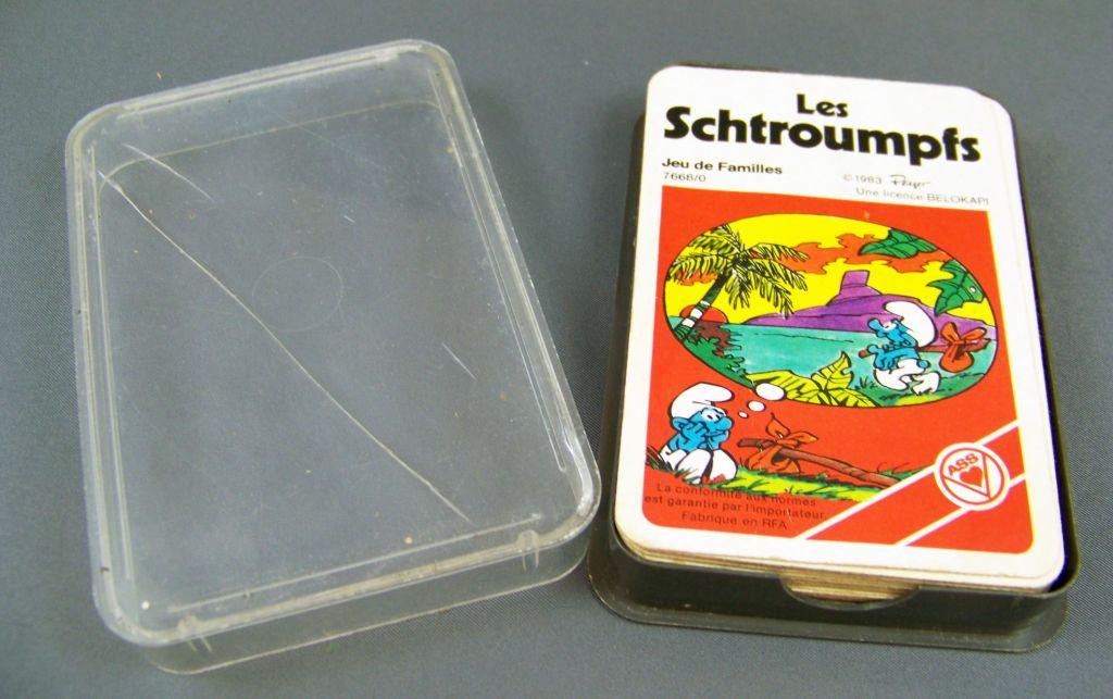 Les Schtroumpfs - Jeu de Familles (ASS Belokapi) 1983 02