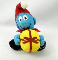 The Smurfs - McDonald\'s Plush (2000) - Christmas Smurf