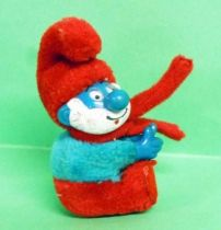 The Smurfs - Plush with claw - Papa Smurf