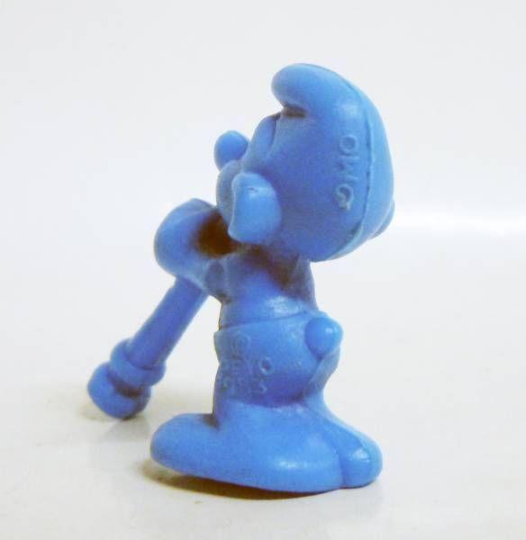The Smurfs - Premium Figure OMO - Flutist Smurf